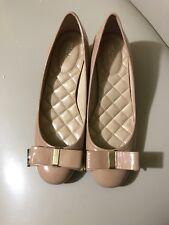Michael Kors Kiera Flex Mid Pump DK Nude Womens Shoes