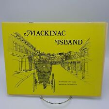 Mackinac Island Souvenir Book 1976 Seger Ironside Michigan Sites