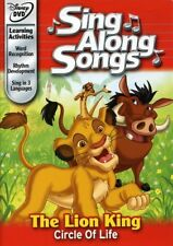 Lion King: Circle of Life Sing Along Songs [New DVD]