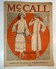 VTG 1922 ANTIQUE SEWING PATTERNS ADVERTISING FASHION McCALL NEWSPAPER FLAPPER
