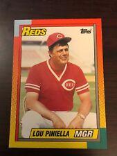 1990 Topps Traded Lou Piniella cincinnati Reds 96T