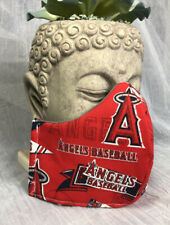 MLB Los Angeles Angels 3 Layer Fitted Face Mask