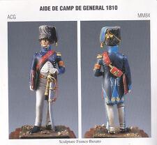 METAL MODELES ACG MM84 - AIDE DE CAMP DE GENERAL 1810 - NUOVO