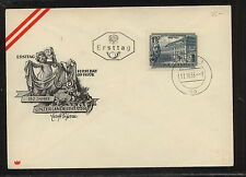 Austria 589 cachet cover first day Kl0815