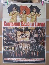 CANTANDO BAJO LA LLUVIA Gene Kelly, Donald O'Connor, Debbie Reynolds, Jean Hagen