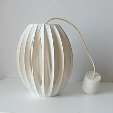 Vintage Suspension lustre scandinave années 50 70 1970 design retro