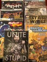 Lootcrate Exclusive Variant Comic Lot Harley Quinn Walking Dead & More All NM+