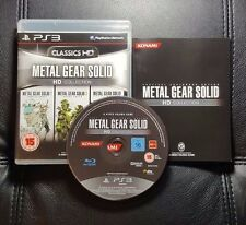 Metal Gear Solid HD Collection (Sony PlayStation 3, 2012) PS3 - Very Good cond.