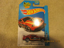 2014 HOT WHEELS HW CITY '12 FORD MUSTANG BOSS 302 LAGUNA SECA 91/250  (I)  VHTF