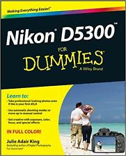 Nikon D5300 For Dummies New Book