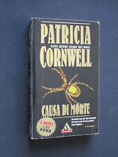 Patricia Cornwell - Causa di morte #121 I Miti Mondadori ed. 1999