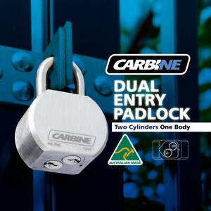 Carbine Dual Key Access Padlock -FREE POST