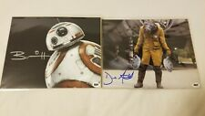 Star Wars! Signed Derek Arnold (Vober Dand) & Brian Herring (Bb8) Bam Box Prints