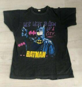 Vintage 1989 DC Comics 'BATMAN' T Shirt - Size Medium