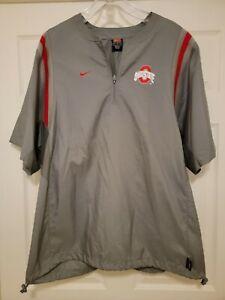 Vintage 90s Nike Ohio State Buckeyes Player Used Team Worn Jacket Sz L RARE
