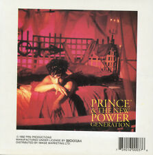 PRINCE - NEW POWER - STICKER/DECAL - BRAND NEW VINTAGE - MUSIC BAND 041