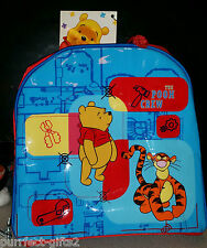 DISNEY WINNIE THE POOH BACKPACK LUNCH TOTE BOX~NEW~INSULATED~FOOD~TOY~CARRIER