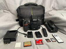 Nikon D800 36.3MP Digital SLR Camera - Black (Body Only) w/ extras