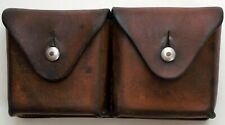 Swiss Army Leather Ammo Pouch Dated 1944