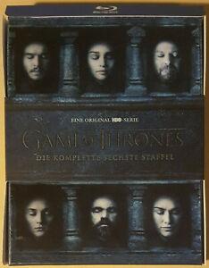 GAME OF THRONES: Die komplette 6. Staffel im Schuber auf Blu-Ray - Top!