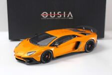 1:18 Kyosho Lamborghini Aventador SV LP750-4 orange NEW bei PREMIUM-MODELCARS