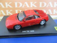Die cast 1/43 Modellino Auto Ferrari 348 TB 1989