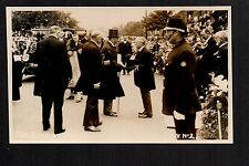 Frodsham - The King Arrives.....- real photographic postcard