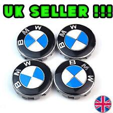 BMW Aleación Rueda Centro Tapacubos E30, E36, E46, E92 1,3,5,6,7,X5 X6 M3 M5 M6 Z4 68mm
