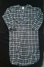 Brooks Brothers Blue Green Plaid (Tartan) Pajama Nightshirts size M
