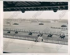 1938 Aqueduct Race Track Two Year Olds Get First Spring Workout Press Photo