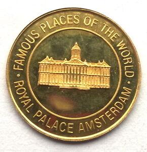 Uganda 1997 Royal Palace Amsterdam 4000 Shillings Gold Coin,Proof