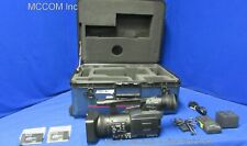 Panasonic AG-HPX170 Handheld P2 Camcorder w/ 1387 hrs, 2-R-Series 16GB, Case