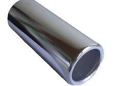 Exhaust Muffler Tail Pipe Trim 57mm Straight Chrome Performance