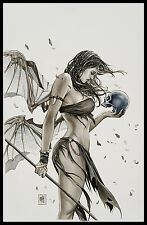 Eternal Soulfire #3 Cover Art by Mike Krome Miya Aspen Comics