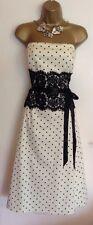 GINA BICCONI Evening Wedding Mother Of Bride Formal Lemon Party Dress Size UK 14