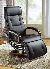 Einfarbige moderne Sessel aus Kunstleder