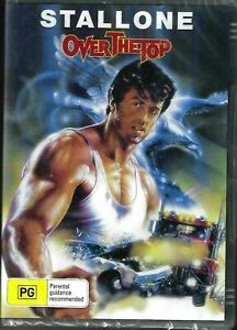 Over The Top DVD Sylvester Stallone Brand New and Sealed Australia