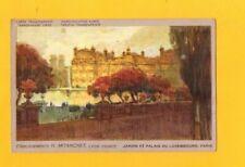 PARIS (VI°) Jardin du LUXEMBOURG / Ets MITANCHET à LYON début 1900