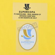 2017-18 Barcelona Supercopa 2017 vs Real Madrid Set Gk Player Issue Patch for...