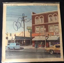 BILLY JOEL HAND SIGNED AUTOGRAPHED STREETLIFE SERENADE ALBUM! W/ COA!