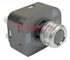 Schalter, Spiegelverstellung METZGER 0916351 für AUDI
