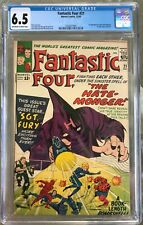 Fantastic Four #21 (1963) CGC 6.5 - O/w to white pgs; 1st Hate-Monger appearance