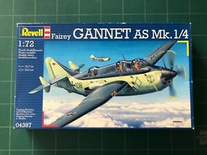 Revell 1:72 Bausatz Fairey Gannet AS.1./4 Dt. Marine /Royal Navy