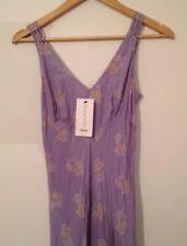 kate moss topshop NEW Purple Floral Fishtail Dress UK 6 Eu 34 KATE MOSS RRP 85