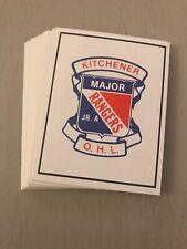 1984-85 KITCHENER RANGERS OHL TEAM SET