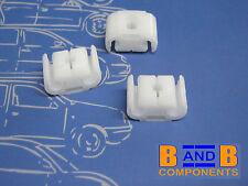 VW GOLF JETTA MK2 BRAKE PIPE HOLDER FIXING CLIPS 811611797 x 3 C627