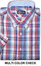 Camisas y polos de hombre de manga corta color principal multicolor de poliéster