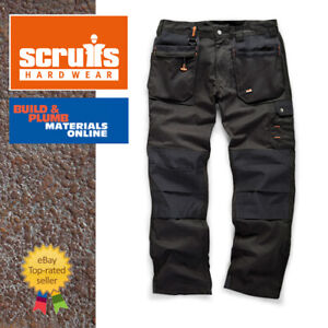 Scruffs BLACK WORKER PLUS Trousers | Trade Hard Wearing Work Trousers