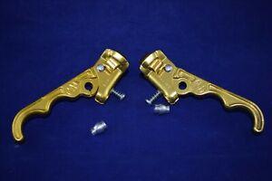 DIA-COMPE MX-120 TECH II 2 brake lever set stamped 1984/1985 old school bmx NOS