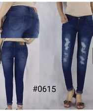 TATTERED AUGUST JEANS EO#0615  SIZE 32